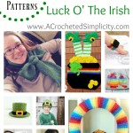 Celebrate the Luck O' The Irish with this Round Up of 17 Crochet Patterns by A Crocheted Simplicity