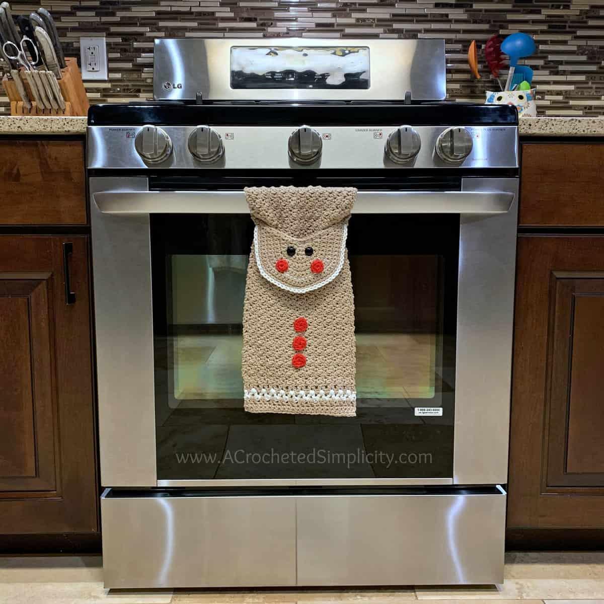 Gingerbread Man Kitchen Towel
