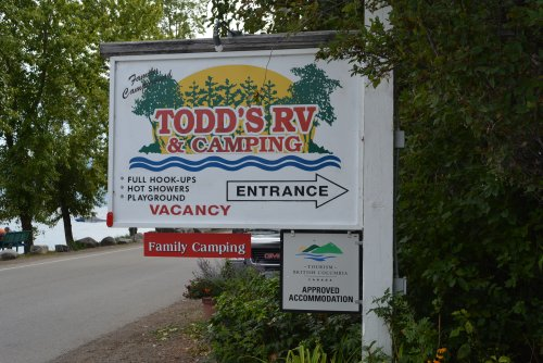 Todd's RV Sign