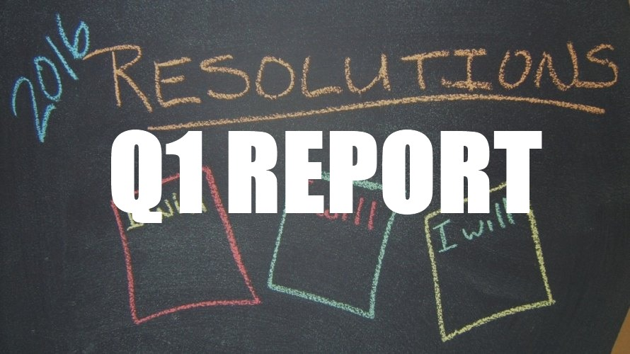 2016 Resolutions Q1 Review
