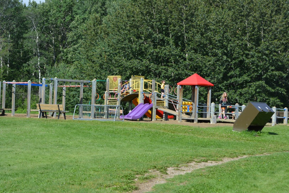 Large Playground at Pigeon Lake PP