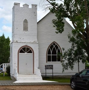 United Church in Rowley Alberta