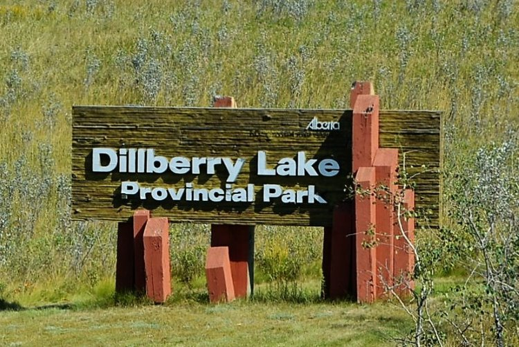 dilberry-lake-provincial-park-sign