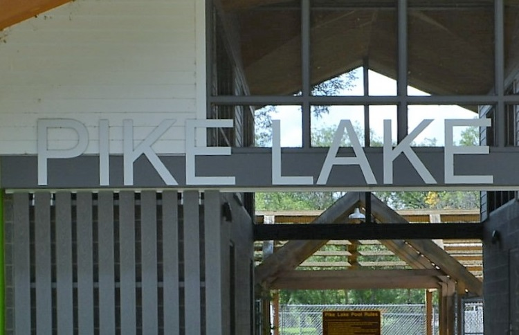 pike-lake-sign-on-changerooms