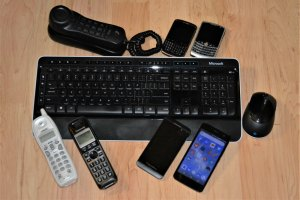 assorted communication devices