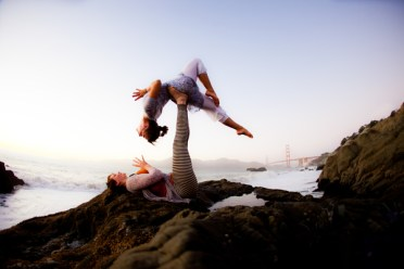 Wari Om Photography Lucie Beyer & Almuth Kramer at Baker Beach, San Francisco