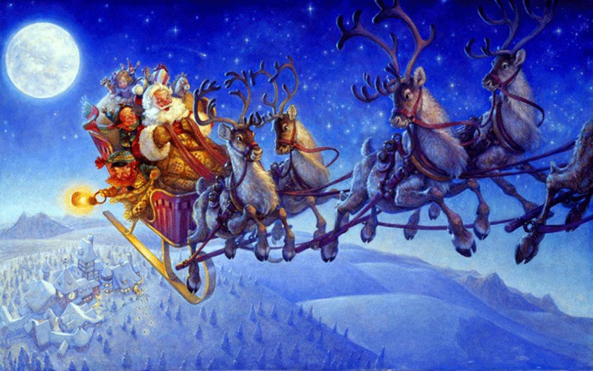 special holiday acro jam santa flys his reindeer acropedia