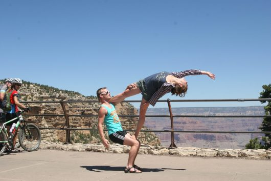 We love being able to share this practice wherever we go. This is what truly makes AcroYoga so beaut