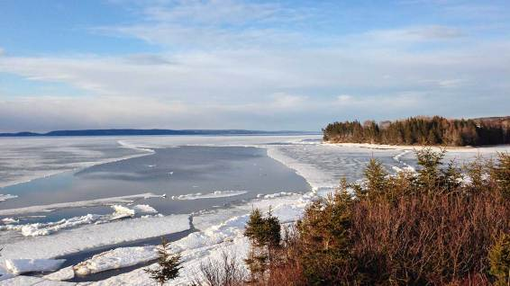 Bras d'Or Lake: at Mary's Place