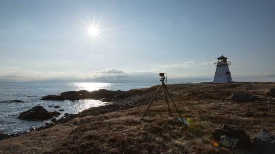 Isle Madame: Timelapse bei -5 Grad Celsius… und die Kamera gefriert