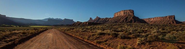 Irgendwo im Nirgendwo in Utah.