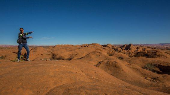 Ich präsentiere euch: bizzarre Landschaft!