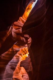 Der Lower Antelope Canyon begeistert uns.