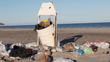Der Abfall an den Stränden ist teilweise schwer zu ignorieren…