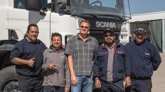 Super Service, danke Scania!