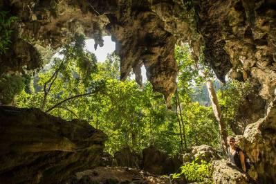 Die Grutas Candelaria sind eine heilige Stätte der Mayas.