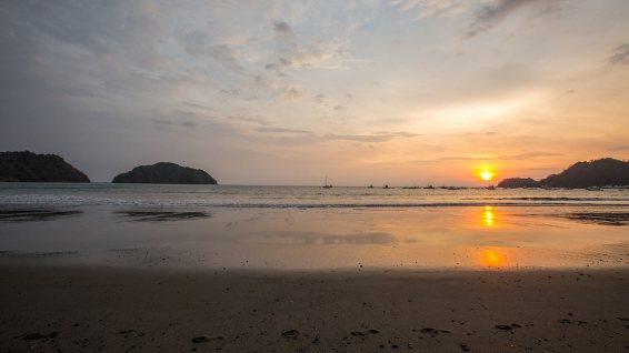 Sonnenuntergang in Costa Rica.