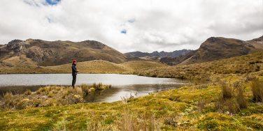 Kurze Hochland-Wanderung im Cajas Nationalpark.