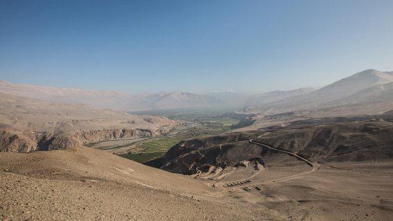 Typisches Tal nähe Arequipa.
