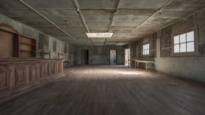 Auf diesem schönen Holzboden wurde früher getanzt.