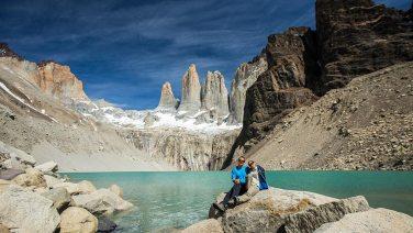 Obligates Foto der obligaten Wanderung zu den obligaten Torres.
