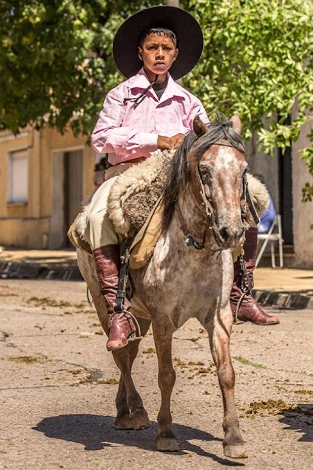 Nicht jeder kriegt ein grosses Pferd.