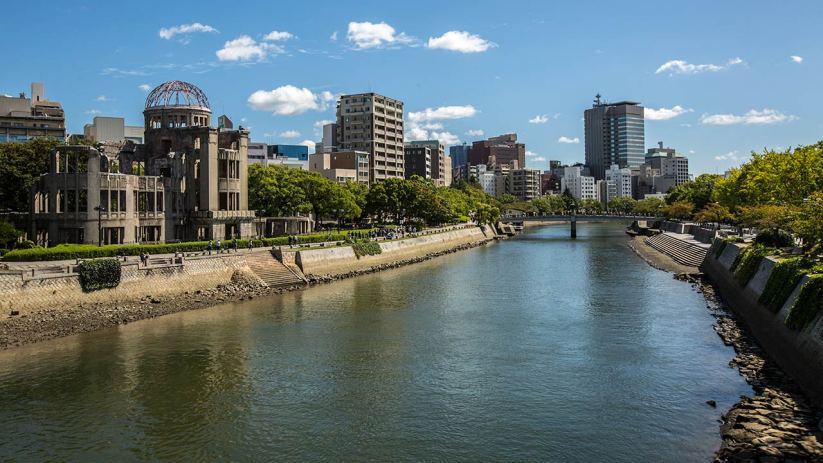 ... und Hiroshima ...