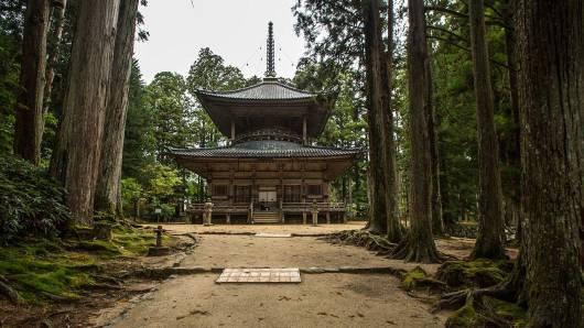 Das Zentrum der buddhistischen Shingon-Schule.