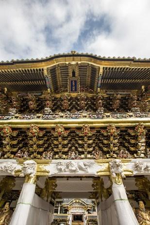 Die prunkvolle Tempelanlage begeistert uns...