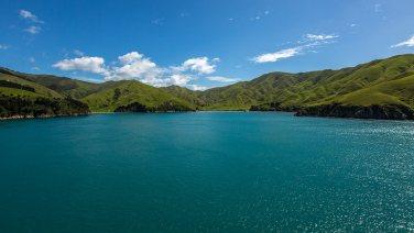 Überfahrt zur Südinsel.
