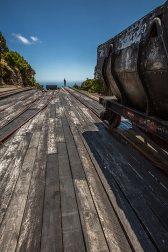 Es wurden abenteuerliche Transportwege für die Rohstoffe verwendet.