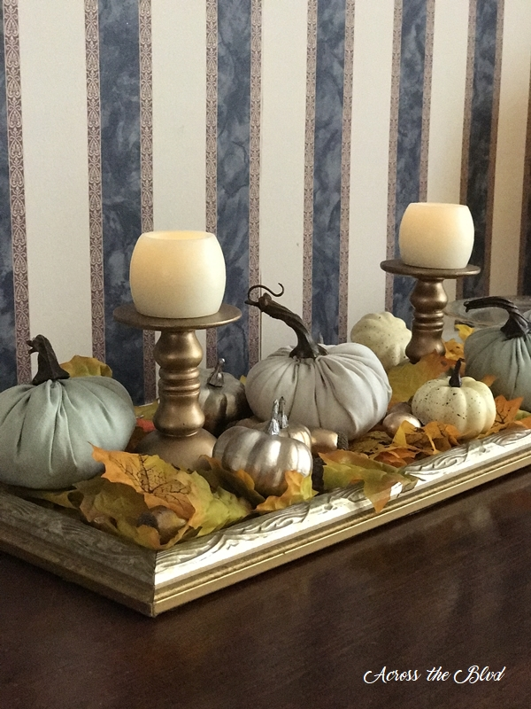 Simple & Budget Friendly Fall Decor Across the Blvd