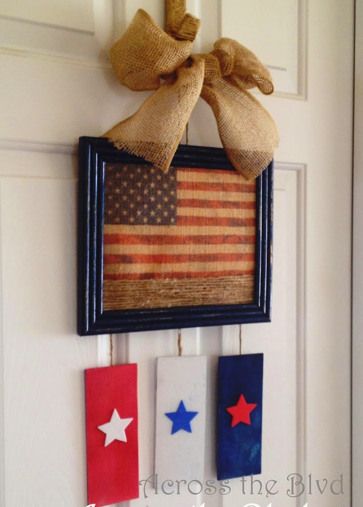 Stars and Stripes Wall Hanging