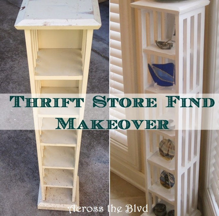 Thrift Store Find ~ Makeover Using DIY Chalk Paint