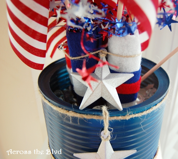 PATRIOTIC UPCYCLE DECOR