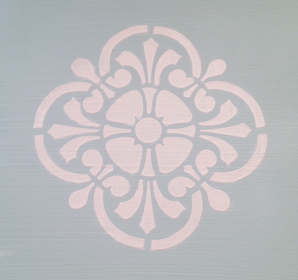 Stenciled Paint
