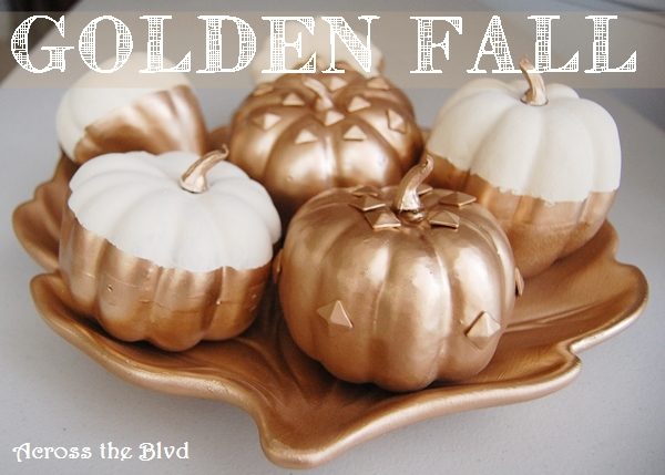 Golden Fall Pumpkins