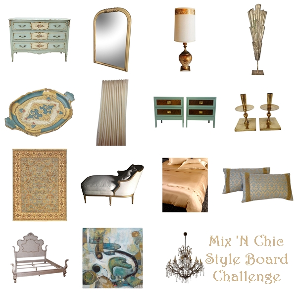 Mix 'n Chic Style Board Challenge