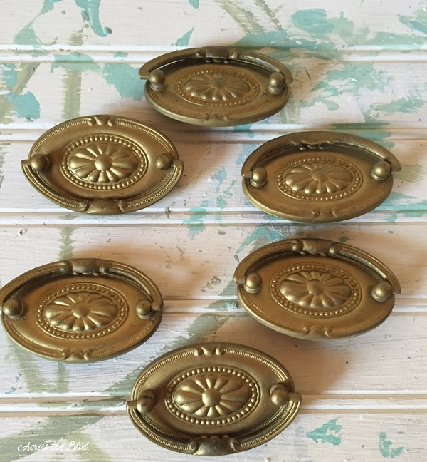 old drawer pulls