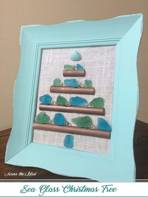 Sea Glass Christmas Tree - Across the Boulevard