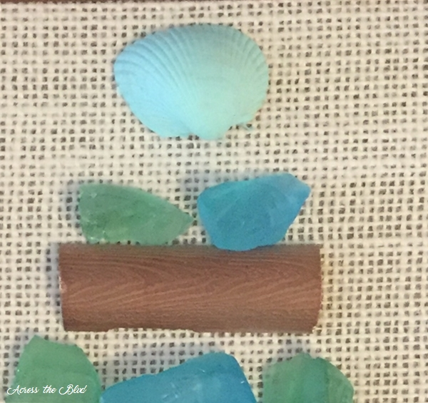 Sea Glass Tree Assembly