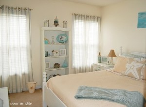 Coastal Bedroom Makeover Across the Blvd