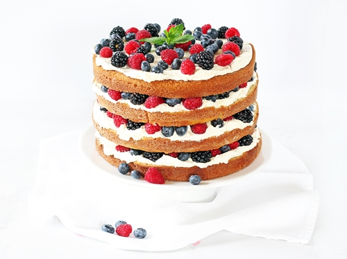 Triple Berry Layer Cake If You Give A Blonde A Kitchen