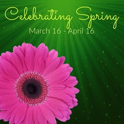 Celebrating Spring Link Party Button