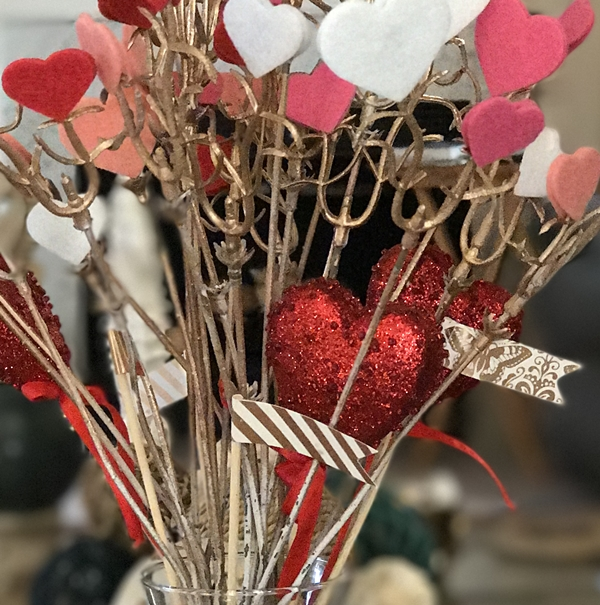 Hearts & Stems Valentine's Decor