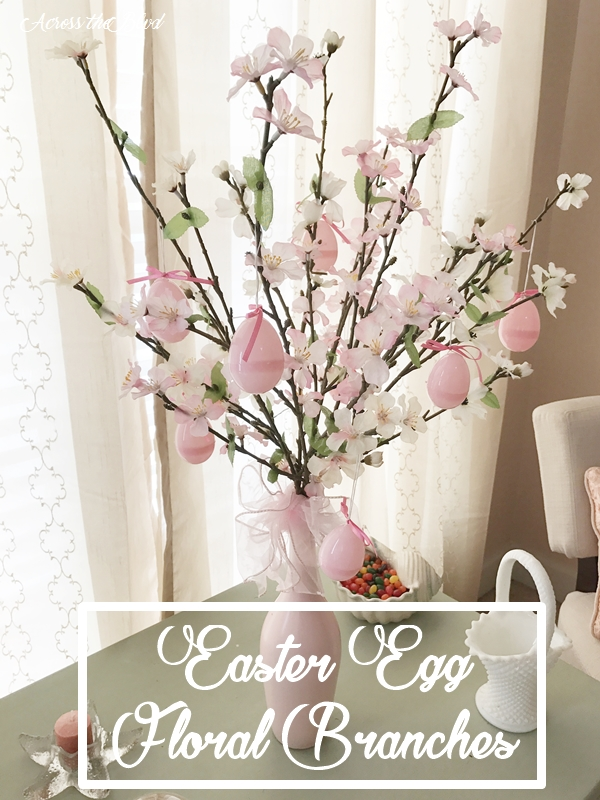 Easter Egg Floral Branches