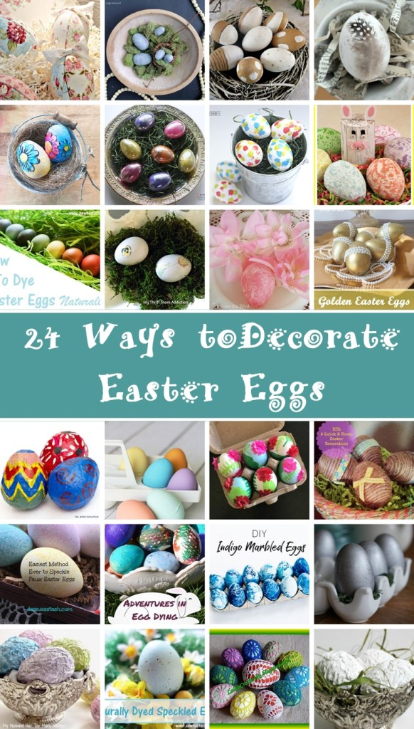Egg-Cellant Inspiration – 24 Ways To Decorate Easter Eggs