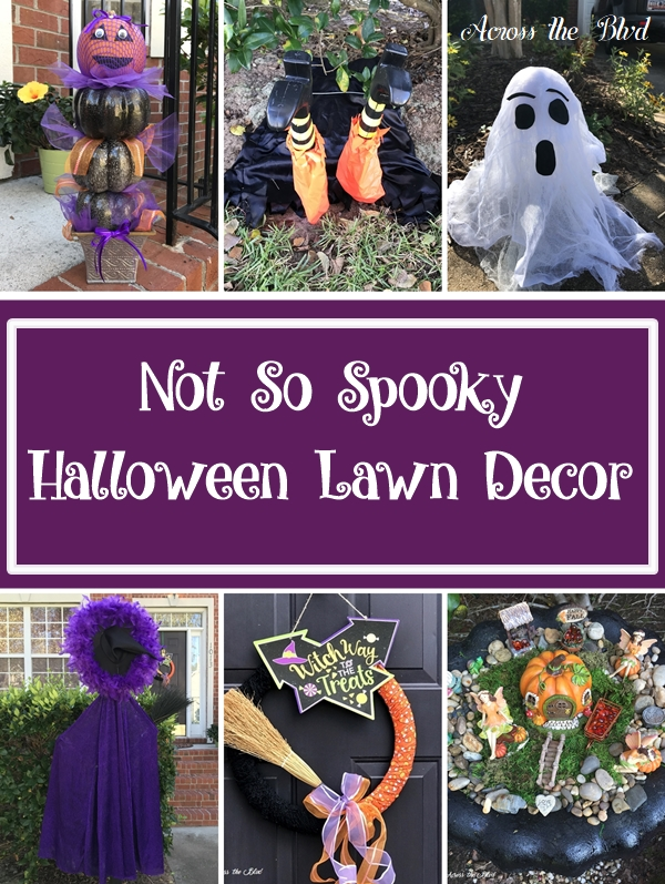 Not So Spooky Halloween Lawn Decor