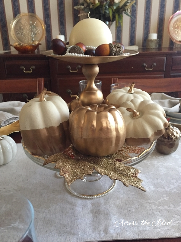 Thanksgiving Dining Room Decor Centerpiece
