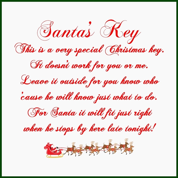Santa's Key Across the Blvd